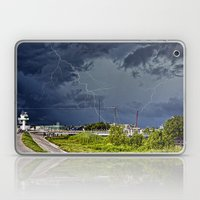 Storm Near New Orleans Laptop & iPad Skin