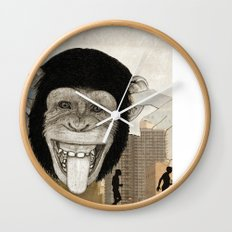 Chimpanzees don't care about evolution history. Wall Clock