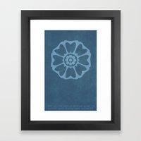 Order of the White Lotus Framed Art Print
