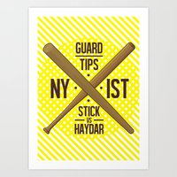 Self Guard Art Print