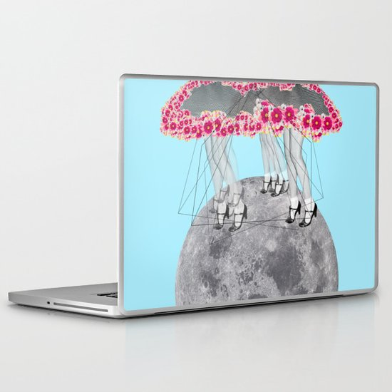 C-Over The Moon  Laptop & iPad Skin