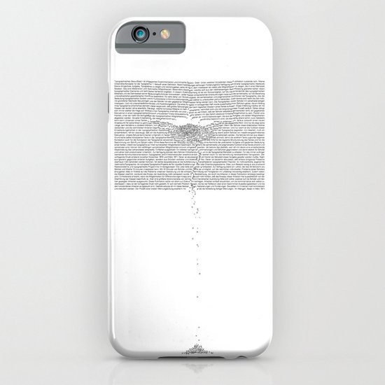 Erosion & Typography 1 iPhone & iPod Case
