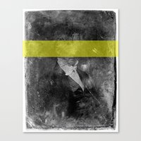 DAG IV (yellow) Canvas Print