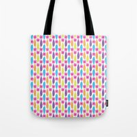 Tropical Feathers Tote Bag