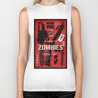 Zombie Emergency Kit Biker Tank