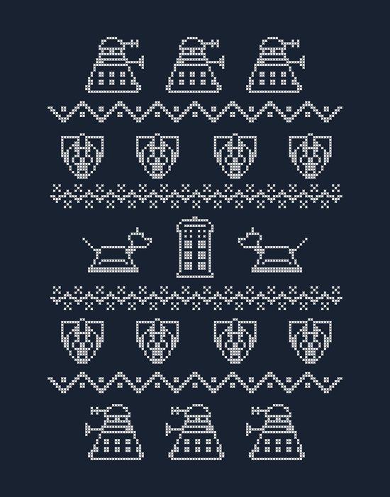 Timey Wimey Christmas Art Print
