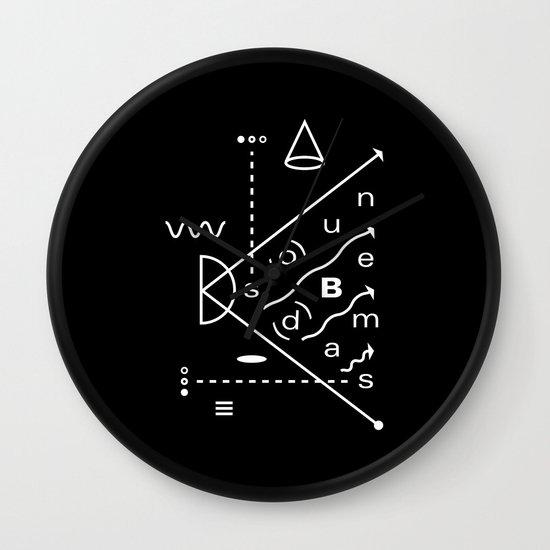 Soundbeams Wall Clock