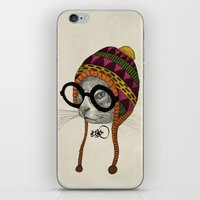 Foolishness Is In The Ey… iPhone & iPod Skin