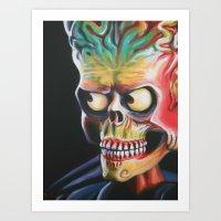 Ack Ack Art Print