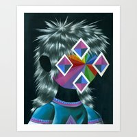 Beautiful Dreamer Sylves… Art Print