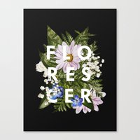 Florescer Canvas Print