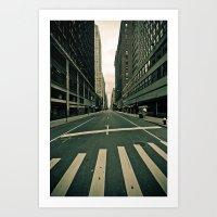 NY ... abandoned  Art Print