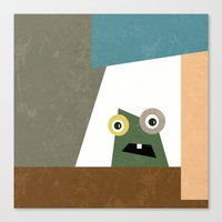 Monster Within  Canvas Print