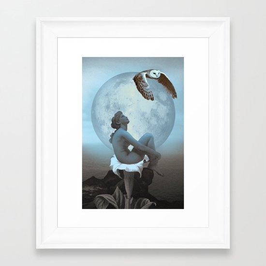 DATURA Framed Art Print