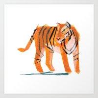 Jack Tiger Art Print