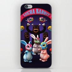 Lucha Rabbit iPhone & iPod Skin