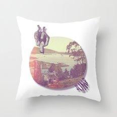 //juMP. Throw Pillow