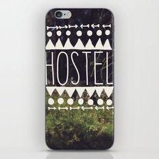 hostel iPhone & iPod Skin