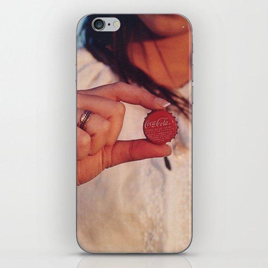 bottle top iPhone & iPod Skin