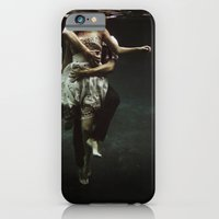 portrait iPhone & iPod Cases featuring abyss of the disheartened : V by Heather Landis
