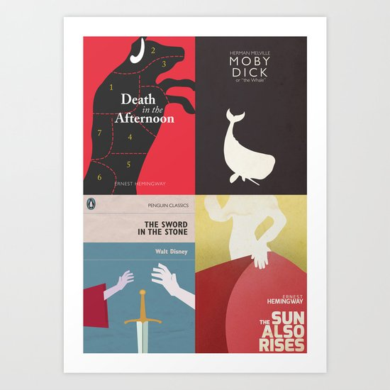 Famous Book Covers & Posters In My Shop Art Print By