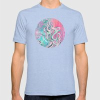 Tempest II (colour variant) Mens Fitted Tee Tri-Blue SMALL