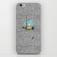 Old Man and the Sea iPhone & iPod Skin