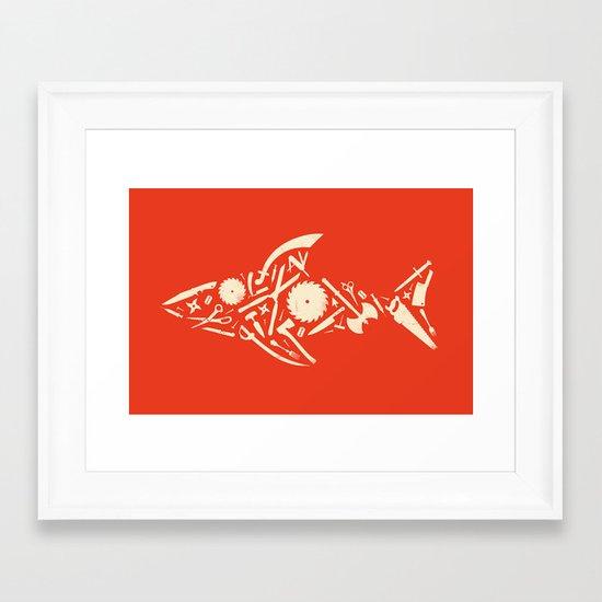 Sharp! Framed Art Print