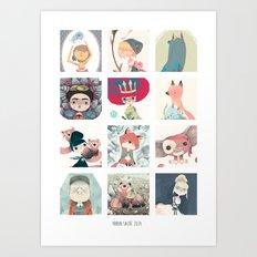 l'année Art Print
