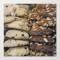 Almond Cookies - Food Kitchen Photography Canvas Print