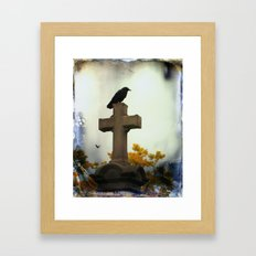 Gothic Glow Of Fall Framed Art Print