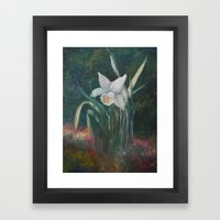 Daffodil Love Framed Art Print