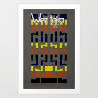 Eastachi -Wezteka Union. Art Print