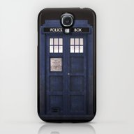 Tardis Front Galaxy S4 Slim Case