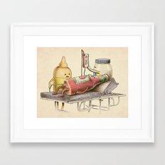 Emergency Transfusion  Framed Art Print