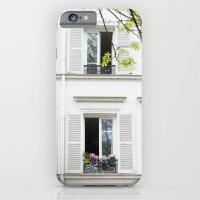 White, White Windows iPhone 6 Slim Case