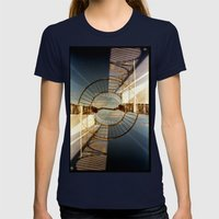 Landscapes C10 (35mm Dou… Womens Fitted Tee Navy SMALL