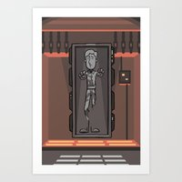 EP6 : Han Solo In Carbon… Art Print