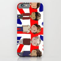one direction iPhone & iPod Cases featuring One Direction by Paige Norman