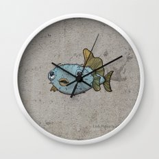 Pececitos color! Wall Clock
