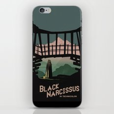 Black Narcissus iPhone & iPod Skin
