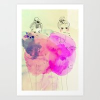Brr its cold outside Art Print