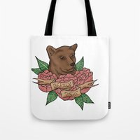 Bearly There Tote Bag