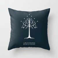 Lord Of The Rings ROTK Throw Pillow