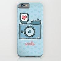 Blue Smile iPhone 6 Slim Case