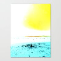 The World is your Sandbox Canvas Print