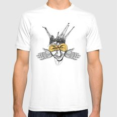 fact Mens Fitted Tee SMALL White