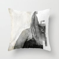 Faceless | number 03 Throw Pillow