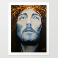 Christ Painting Art Print