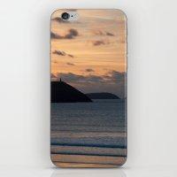 Evening Skies Over Polzeath iPhone & iPod Skin